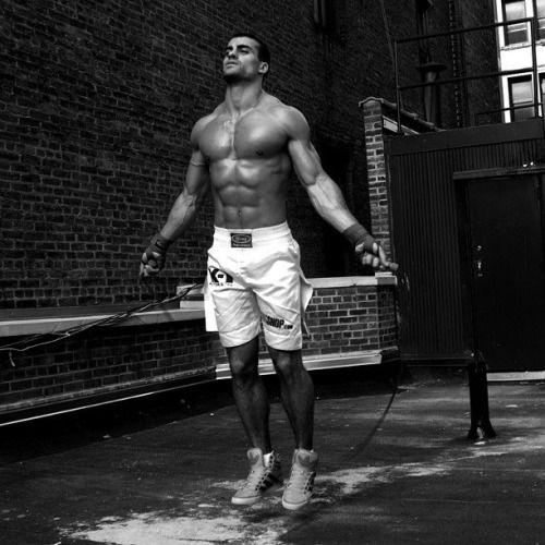 nothingexceedslikeexcess: The French-Italian boxer Thomas Canestraro.
