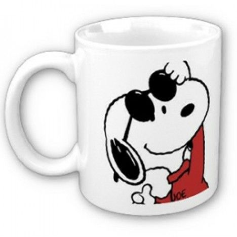 Caneca Snoopy Joe Cool