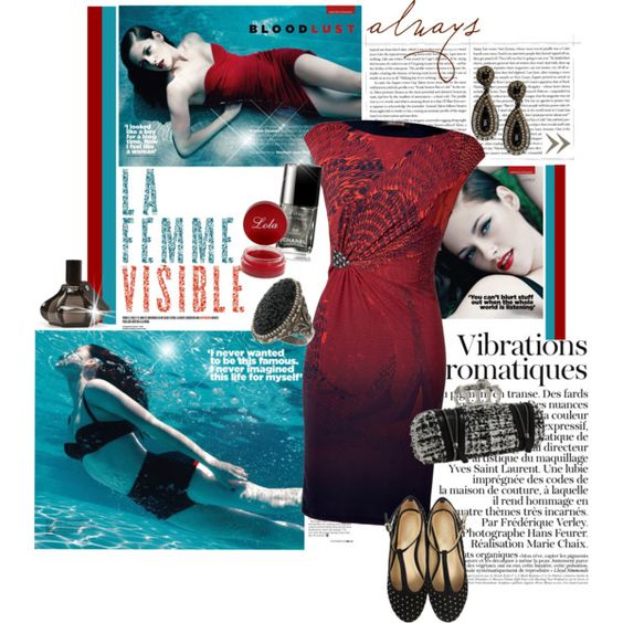 """La Femme Visible....."" by dianekinkade on Polyvore"