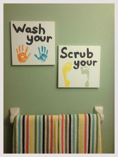 10 Kids Bathroom Decor Ideas Every Mom Will Love Kid Bathroom Decor Kids Bathroom Art Childrens Bathroom
