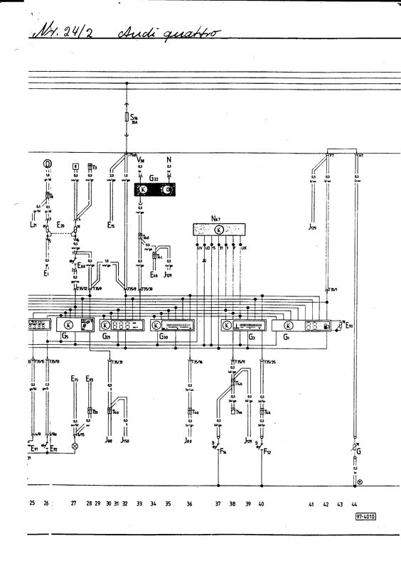 Quattro Wiring Diagram