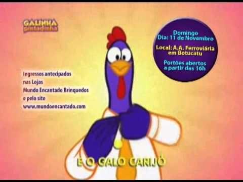 Show Da Galinha Pintadinha Em Botucatu Dia 11 De Novembro