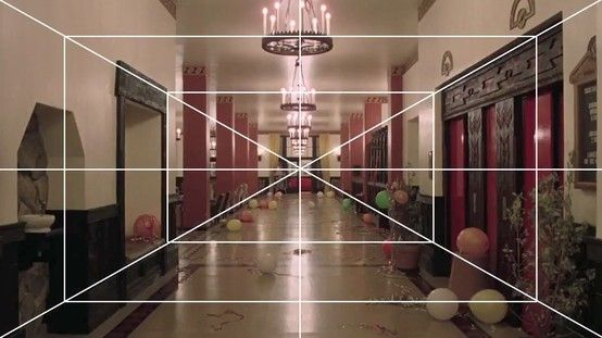 Stanley Kubrick - One Point Perspective