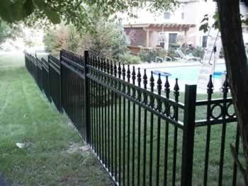 traditional metal fence panels - Google Search
