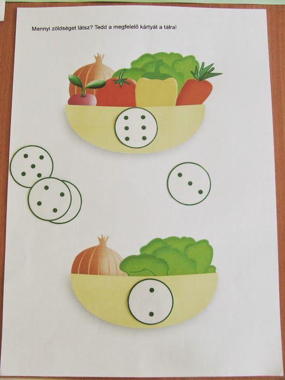 Letölthető ovis feladatok zöldségekről