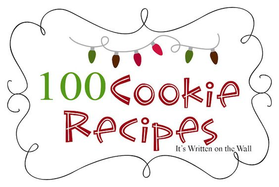 Yes, you read that correctly.....Get 100 yummy cookie recipes
