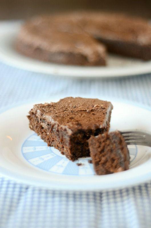 Paleo Vegan Chocolate Cake: