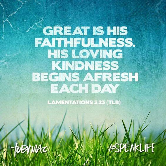 Faithfulness !