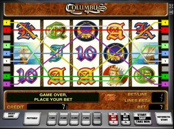 Игровые автоматы играть бесплатно и без регистрации online columbus играть онлайн бесплатно без регистрации в игровые 3д автоматы