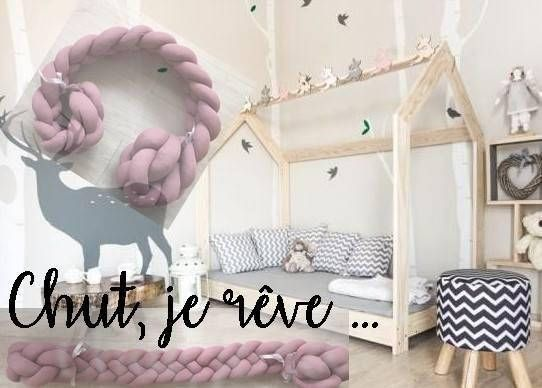Braid Protection Hut To Order Baby Bed Barriere De Lit Lit