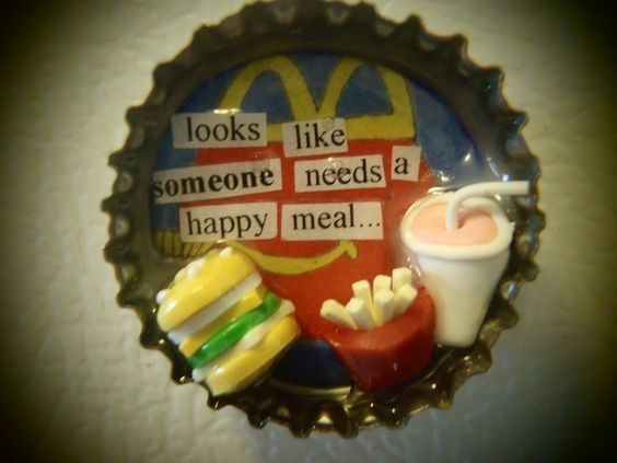 Happy Meal by EppyCaps on Etsy
