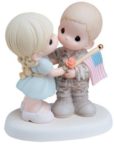 "Precious Moments ""My Soldier, My Hero""  Figurine - Figurine, Hero, Moments, Precious, Soldier"