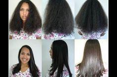 alisamento caseiro pra cabelo crespo
