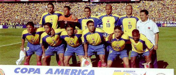 Nómina titular campeona de la Copa América 2001