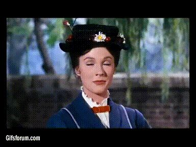 Mary Poppins slow clap- such sass