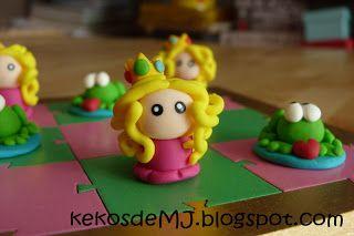 Kekos de MJ: 3 en raya Princesas y Ranas