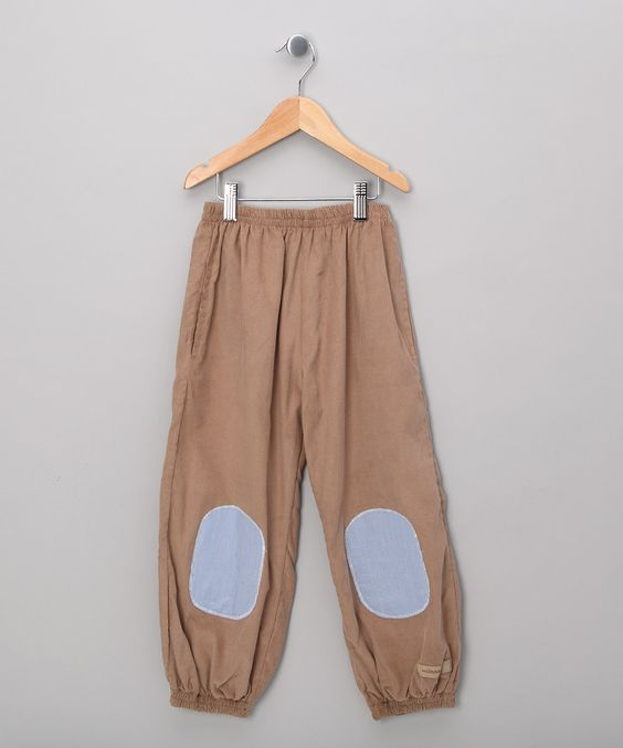 Brown Louie Trousers - Infant, Toddler & Girls