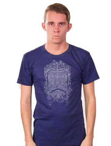 Stone Head T-shirt available at ForHumanPeoples