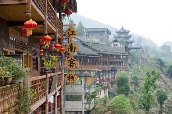 1700-year-old Gongtan ancient town still flourishes - People's Daily Online