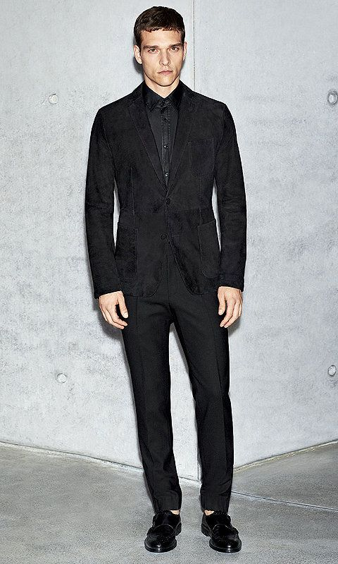 Patron and chemises on pinterest - Costume noir chemise noir ...