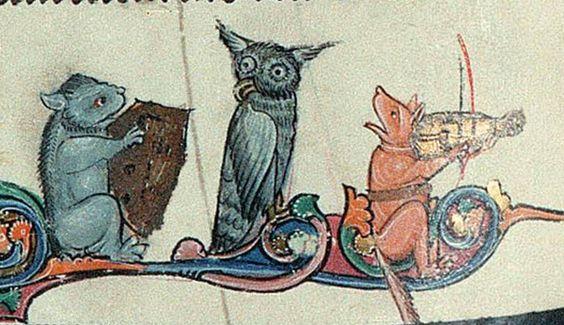 Trio (Vienna, Österreichische Nationalbibliothek, Codex Vindobonensis Palatinus 1898, 13th c.):