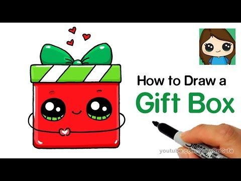 Draw So Cute Youtube Christmas Gift Drawing Gift