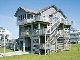 Outer Banks Rentals Ocean View,Carolina Breeze,Rodanthe NC cape hatteras