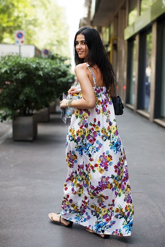 Pretty maxi dress