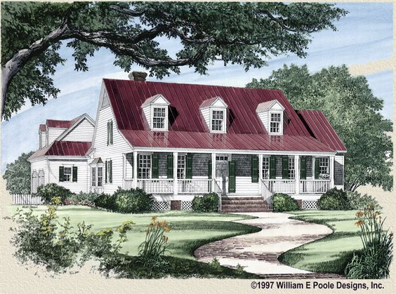 William E Poole Designs Carolina Coastal Cottage LIKE
