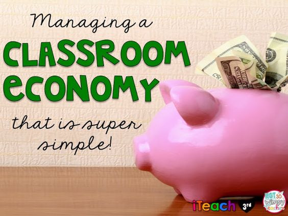 Managing a Classroom Economy that is Super Simple!