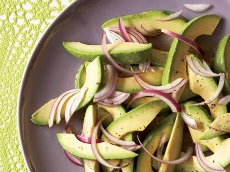 Avocado-and-Onion Salad