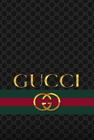 Download Elegant Gucci Logo In Black Wallpaper Gucci Logo Wallpaper Chanel Wall Art Black Wallpaper Black gucci logo wallpaper
