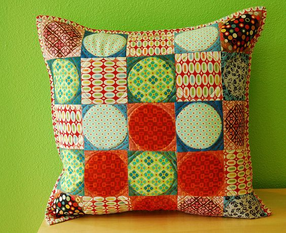 Twinkle Pillow by stitchindye, via Flickr