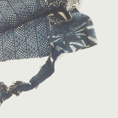 Kiriko boro patch scarf.