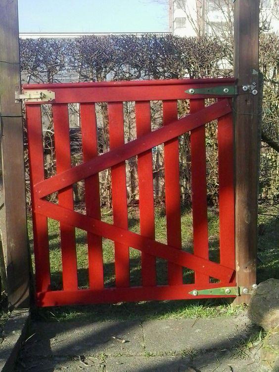 Pinterest the world s catalog of ideas for Diy pallet fence gate