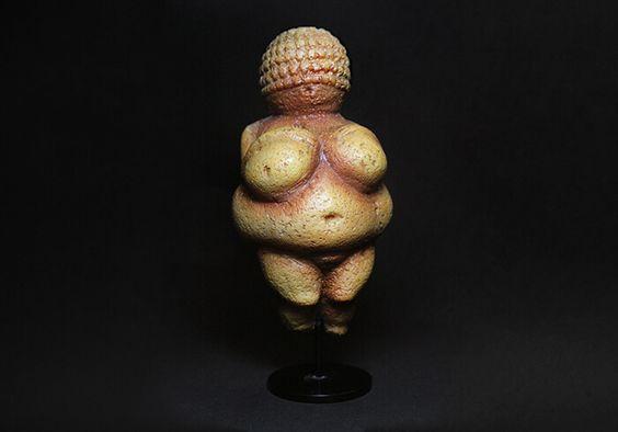 Vênus de Willendorf - Museu de História Natural de Viena