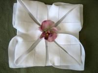 Napkin Folding 101. Step-by-step instructions for 2 dozen different folds. It's easier than you think.