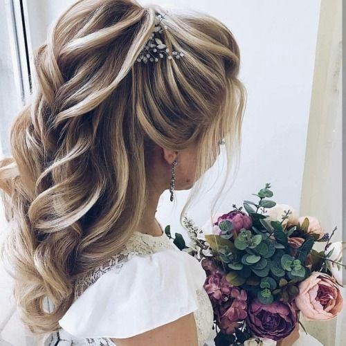 Pin Auf Brautfrisur
