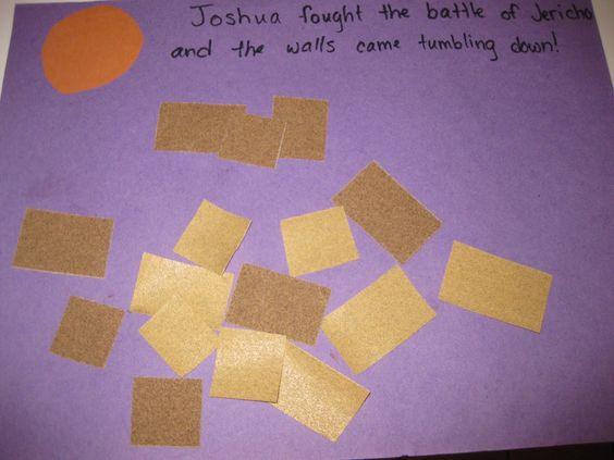Joshua And The Battle Of Jericho Arts And Crafts