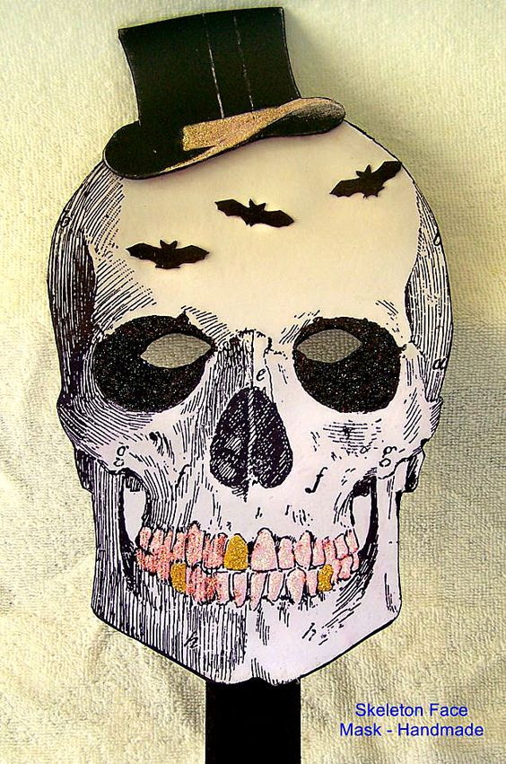 Adorable Paper Halloween Masks