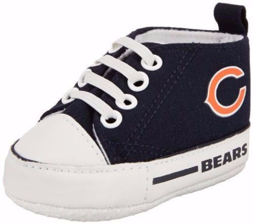 Chicago Bears Hightop Pre-Walker Baby Shoes