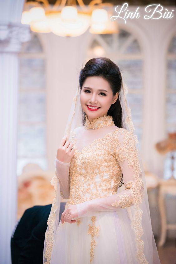 Những lời khuyên bổ ích cho cô dâu khi đi may hoặc thuê áo dài cưới