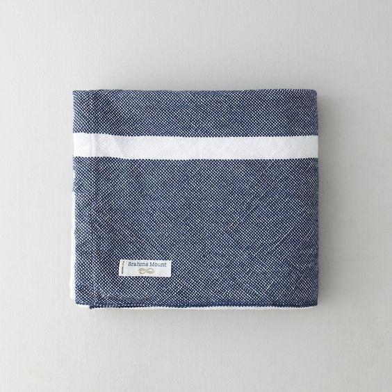 Khadi & Co | Personal Day Blanket, 50% Linen, 50% Cotton | $248