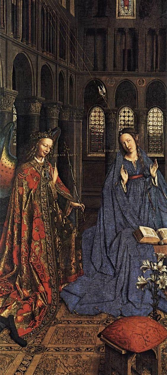 JAN VAN EYCK (1395-1441) - National Gallery of Art, Washington, DC, USA.