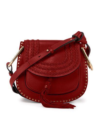 knockoff chloe bags - V2V24 Chloe Hudson Mini Suede/Calfskin Shoulder Bag, Red | Boho ...