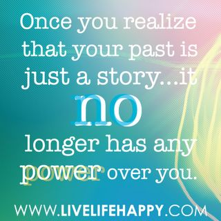 Your past is (hi)STORY. #blogpost