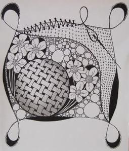 Zentangle by Ti@n@h