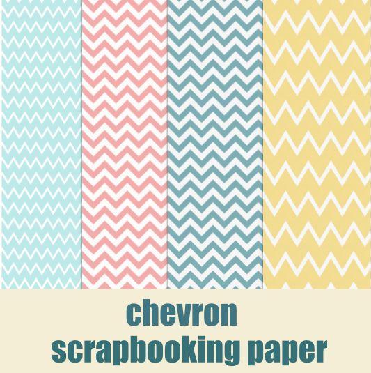 free digital chevron scrapbooking paper – printable wrap paper – Fischgrätenmuster – freebies   MeinLilaPark