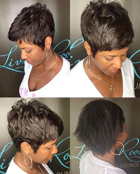 Layered Haircut Best Short Pixie Hairstyles For Black Women 2018 2019 Hair Styles Short Hair Styles Pixie Pixie Hairstyles