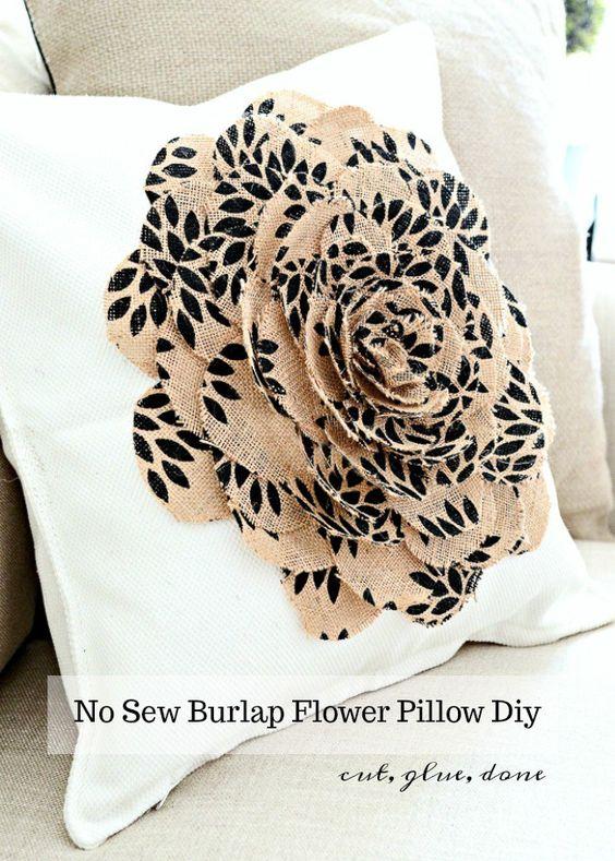 Pretty DIY Decorative Pillow